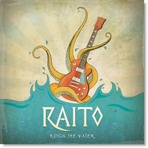 Rock The Water Album Art Contest Winner Raitoca  Indie