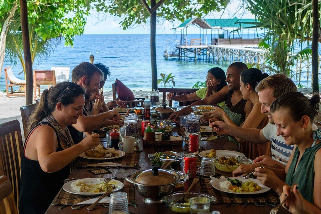 raja ampat resort restaurant group