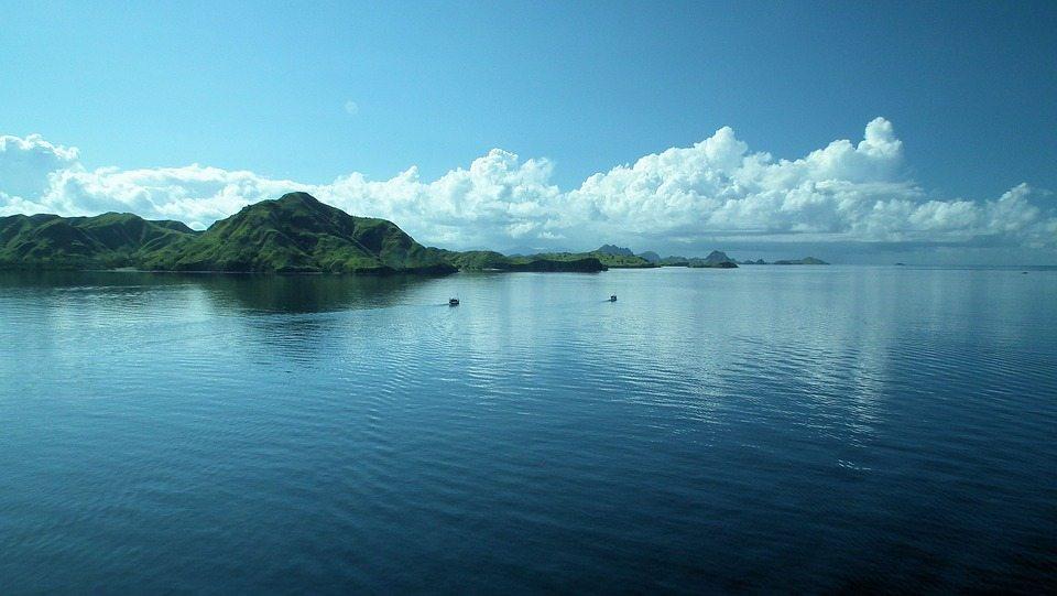 Indonesian Islands cielo