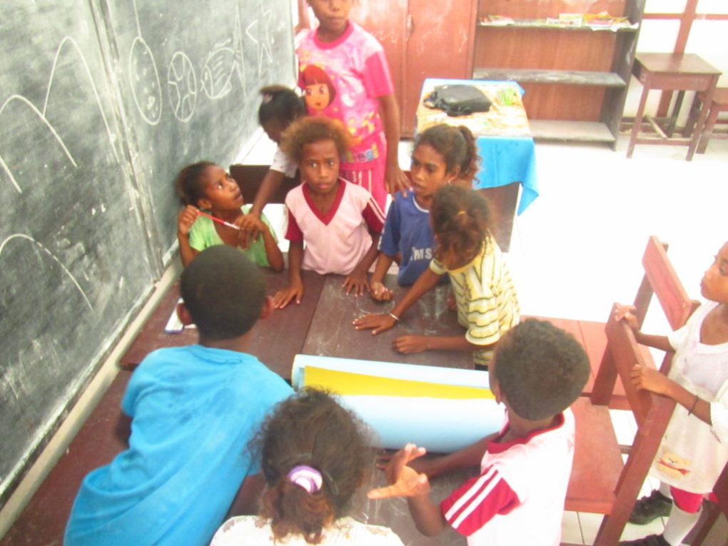 Community Program teaching class
