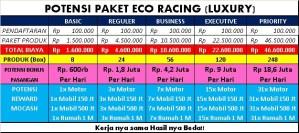Paket Hemat Bisnis Eco Racing