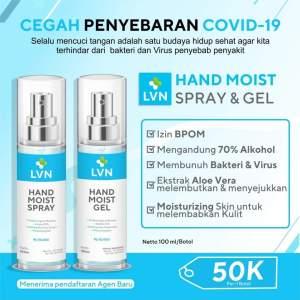 LVN Hand Moist Spray & Gel