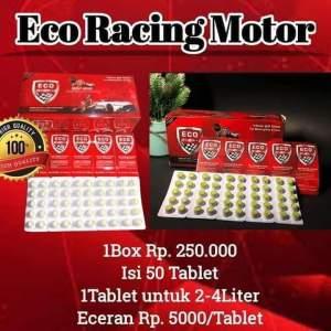 Eco Racing Motor Tablet dan Blister