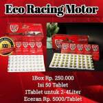 Eco Racing Motor Tablet dan Blister