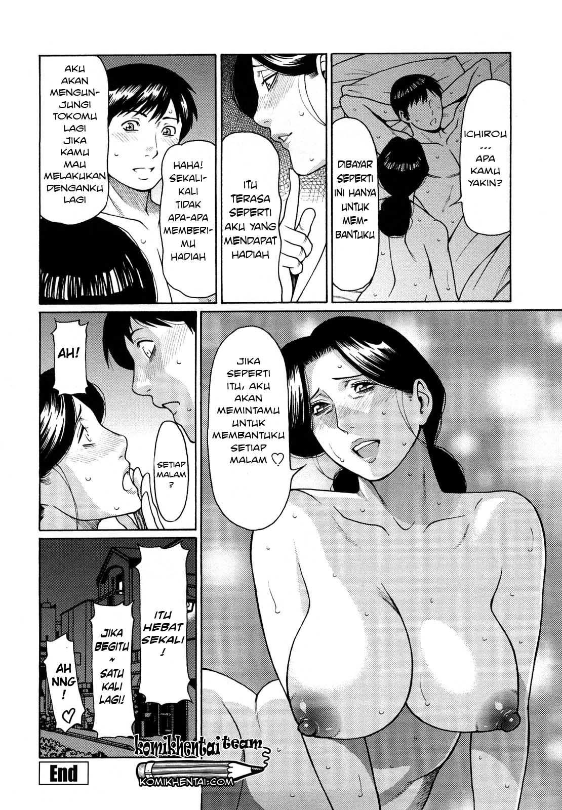 Komik Hentai komik sex janda bahenol part 2