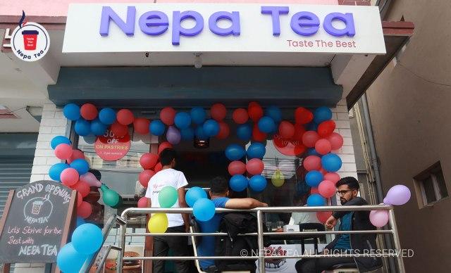 Nepa tea opening
