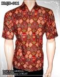 Baju Batik Bola ARSENAL