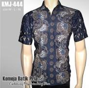 KMJ-444 Kemeja Batik CIPTONING MEGAMENDUNG BIRU
