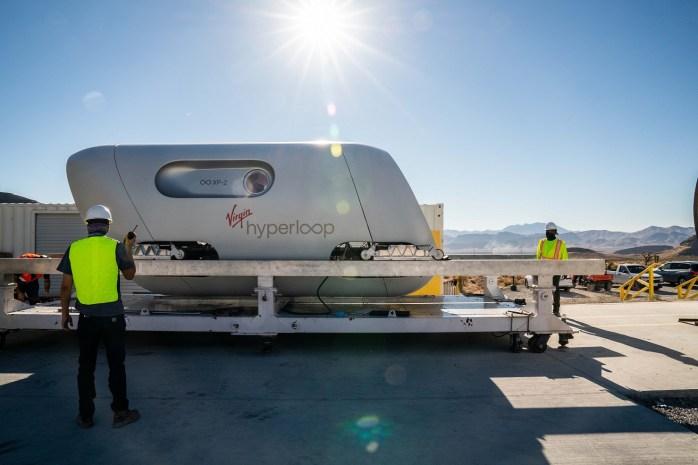Virgin Hyperloop Pod - XP