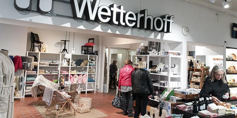 Wetterhoffin myymälä käsityöretki Hiiden Opisto