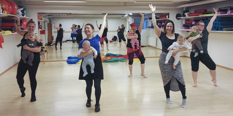 Tanssitaan vauvani - äidit ja vauvat nauttivat liikunnasta