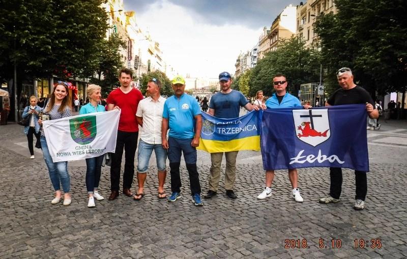 Rowerzyści dojechali do Pragi!