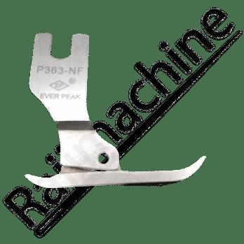 Pied de biche fermeture double branche fine double entrainement P363-NF