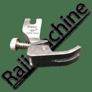 Pied de biche fronceur à vis réglable P952