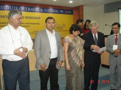 Rajiv Bajaj At Amity University Noida, Deptt of Tourism & Hospitality