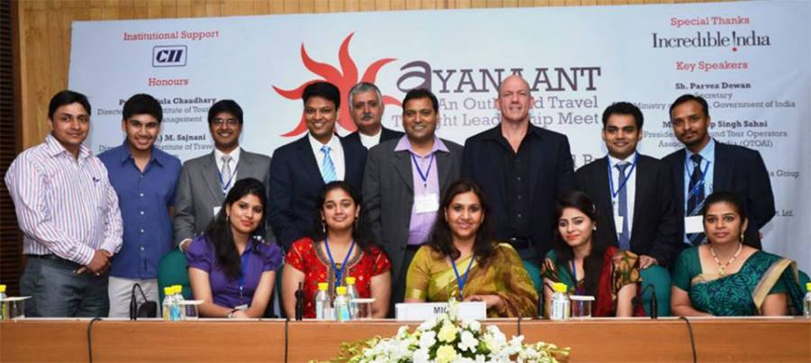Rajiv Bajaj with the Ayanaant Core Team