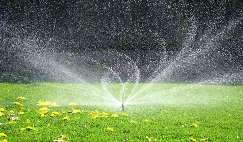 Shower irrigation jaivik kheti