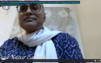 Guided Meditation on the Application of the 6 ASK™ Steps