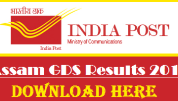 Raj Post GDS Result 2017 Download Merit List At appost in