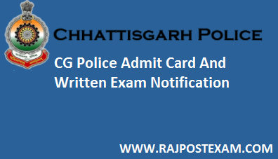 cg police admit card
