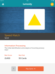 Speed Match