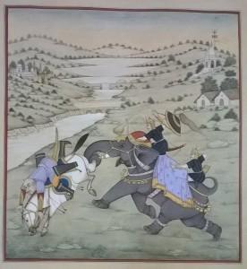 Mughal fighting m005