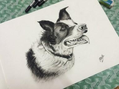 Dog (Charcoal)