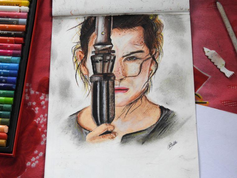 Rey (Oil Pastel)