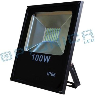 Лед прожектор 100W 220V свет Холодный 6500K IP66 9000lm
