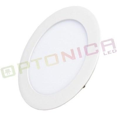 Светильник светодиодный круглый встраиваемый 12W 220V 170мм 780lm