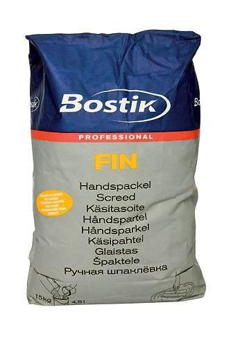 Быстросохнущая шпаклёвка для пола на цементной основе Bostic Fin