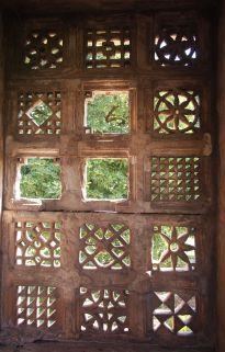 Windows of the Jami Masjid