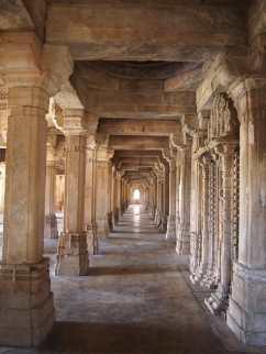 Columns of the Saher Ki Masjid