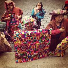 Street Sellers at Chichicastenango