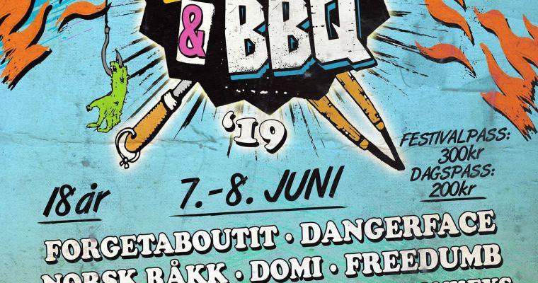 Råkkfolk på Betong Punk & BBQ!