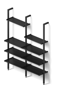 Rakks BL Pole Shelving