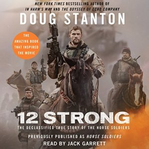 12 Strong audiobook cover art