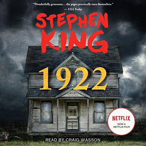 1922 audiobook cover art