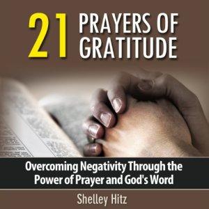 21 Prayers of Gratitude audiobook cover art