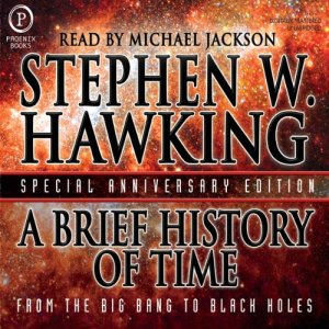 A Brief History of Time audiobook cover art