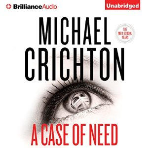 A Case of Need audiobook cover art