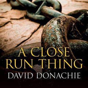 A Close Run Thing audiobook cover art