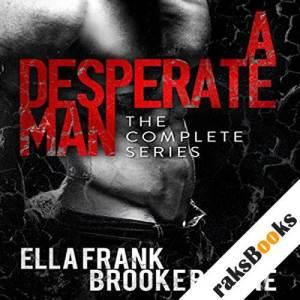 A Desperate Man audiobook cover art