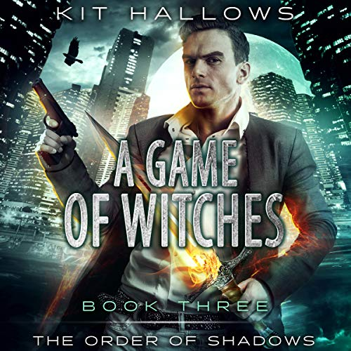 A Game of Witches: A Morgan Rook Supernatural Thriller audiobook cover art