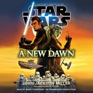 A New Dawn: Star Wars audiobook cover art