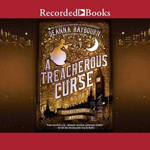 A Treacherous Curse audiobook cover art