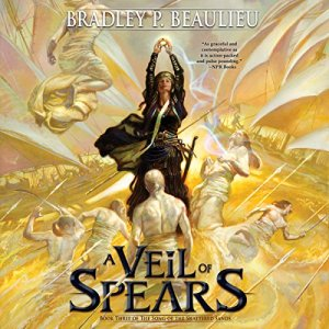 A Veil of Spears audiobook cover art