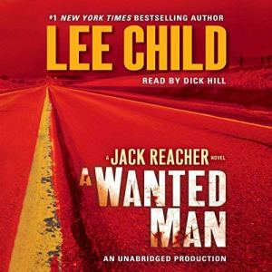 A Wanted Man audiobook cover art