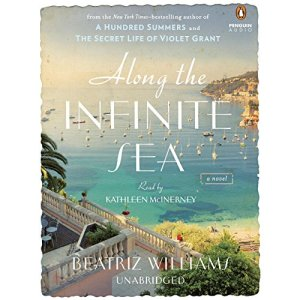Along the Infinite Sea audiobook cover art