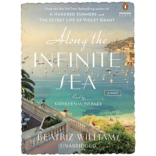 Along the Infinite Sea audiobook cover art
